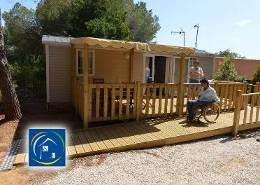 La Pascalinette, un camping pmr spacieux, ombragé et confortable dans le Var…