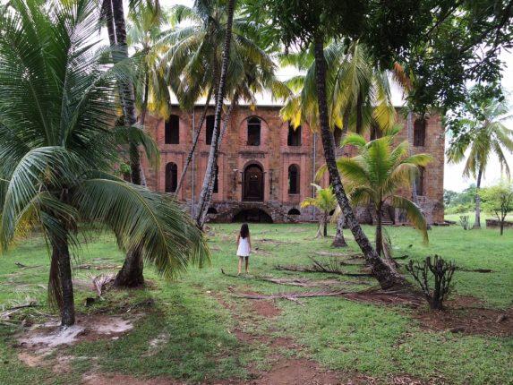 Résidence coloniale en Guyane